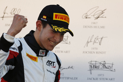 Podio: Esteban Ocon, ART Grand Prix