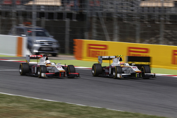 Rio Haryanto, Campos Racing overtakes Arthur Pic, Campos Racing