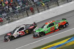 Austin Dillon, Richard Childress Racing, Chevrolet, und Danica Patrick, Stewart-Haas Racing, Chevrolet