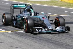 El ganador: Nico Rosberg, Mercedes AMG F1 W06