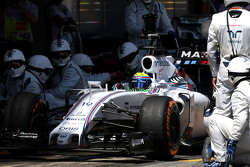 Фелипе Масса, Williams F1 Team во время пит-стопа