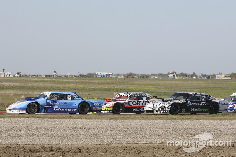 Federico Alonso, Taco Competicion, Torino; Juan Marcos Angelini, UR Racing, Dodge, und Laureano Camp