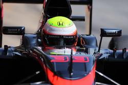 Oliver Turvey, McLaren MP4-30 Piloto de pruebas
