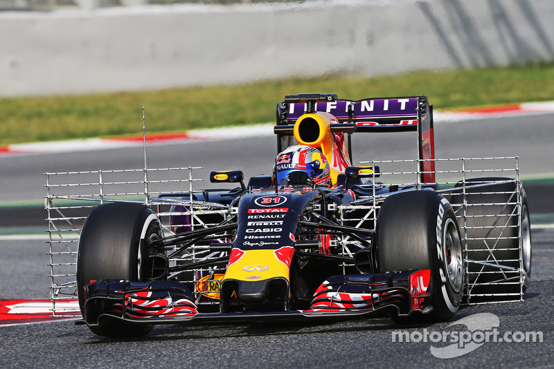Pierre Gasly, Red Bull Racing RB11 Test Driver con sensori di velocità