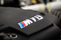 Schubert Motorsport BMW Z4 GT3 engine detail