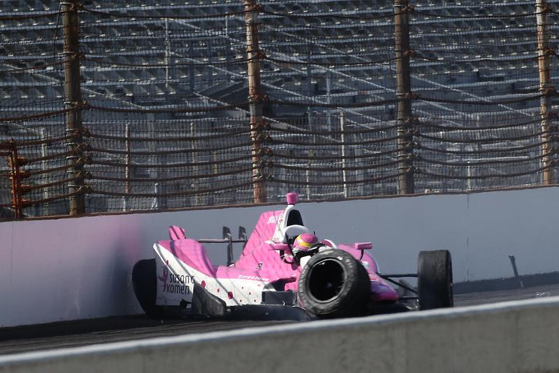 Піппа Манн, Dale Coyne Racing Honda в великій аварії
