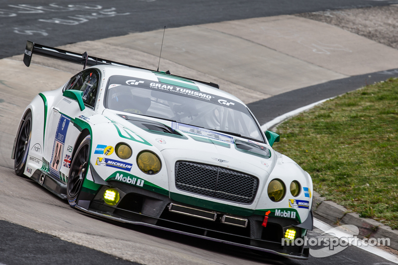 #84 Bentley Team Bentley Continental GT3: Йерун Блекемолен, Lance David Arnold, Christian Menzel, Christopher Brück