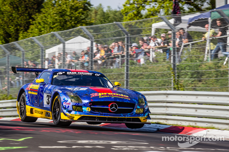 #33 Team Premio, Mercedes-Benz SLS AMG GT3: Rob Huff, Kenneth Heyer, Philipp Frommenwiler, Christian Krognes