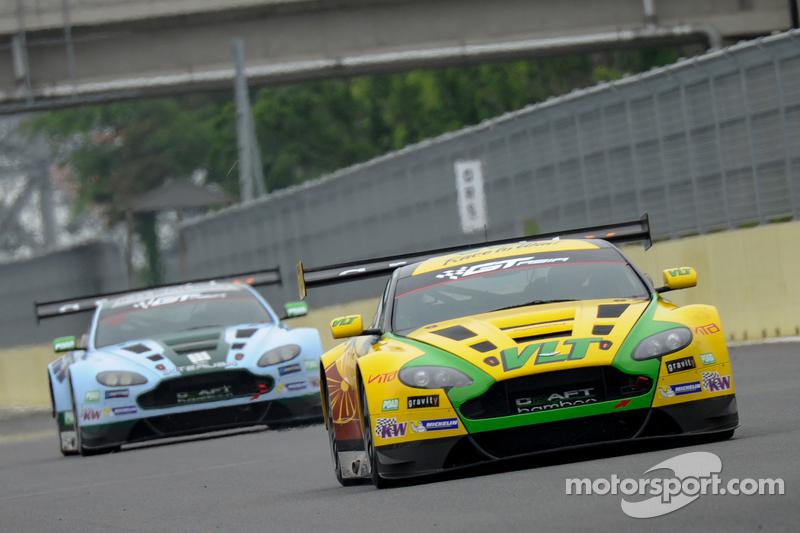 #88 Craft-Bamboo Aston Martin: Frank Yu, Richard Lyons