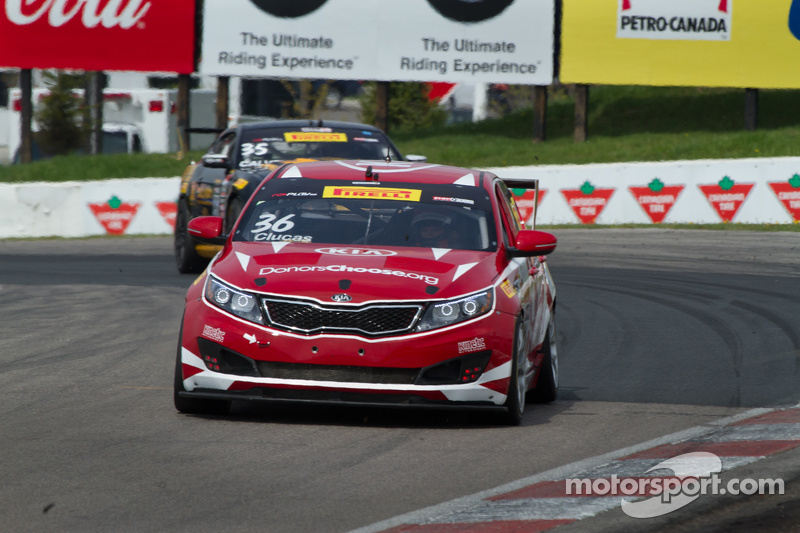 #36 Kinetic Motorsports / Kia Racing, Kia Optima: Ben Clucas