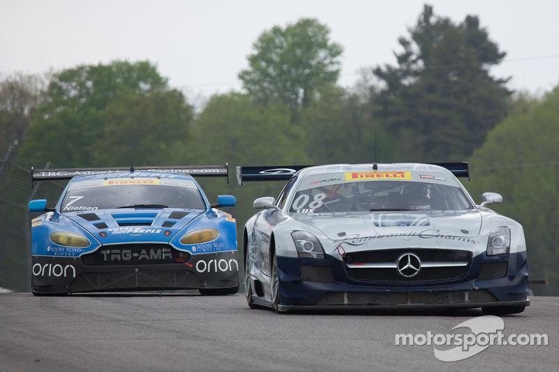 #08 DragonSpeed, Mercedes-Benz AMG SLS GT3: Eric Lux