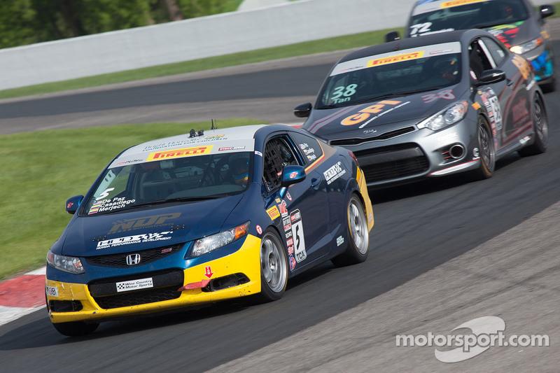 #5 NDP Motorsports Honda Civic: Felipe Merjech