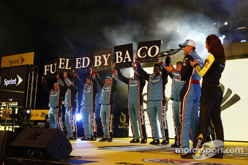 Richard Petty Motorsports crew members are introduced
