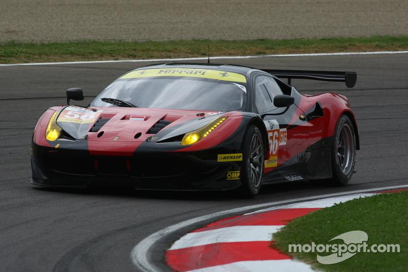 #56 AT Racing Ferrari F458 Italia: Alexта er Talkanitsa Sr., Alexта er Talkanitsa Jr., Алессандро П'