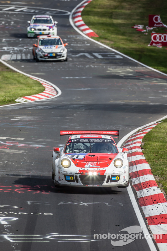 #91 Team Manthey, Porsche 911 GT3 Cup MR: Dieter Schmidtmann, Andreas Ziegler, Marco Schelp, Peter S