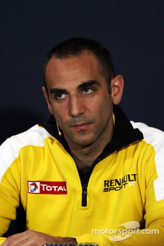 Cyril Abiteboul, Diretor da Renault Sport F1 na Coletiva de Imprensa da FIA