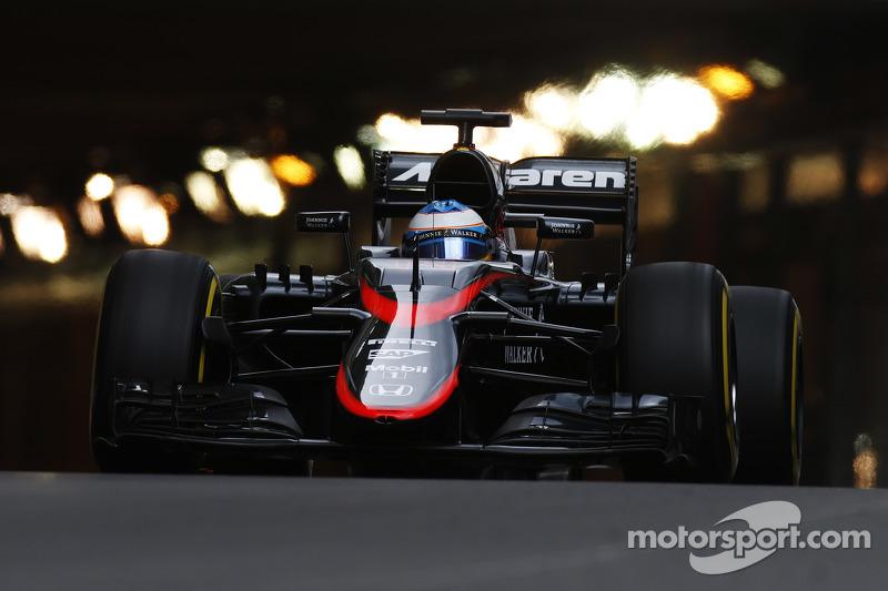 2015 : Fernando Alonso, McLaren MP4-30