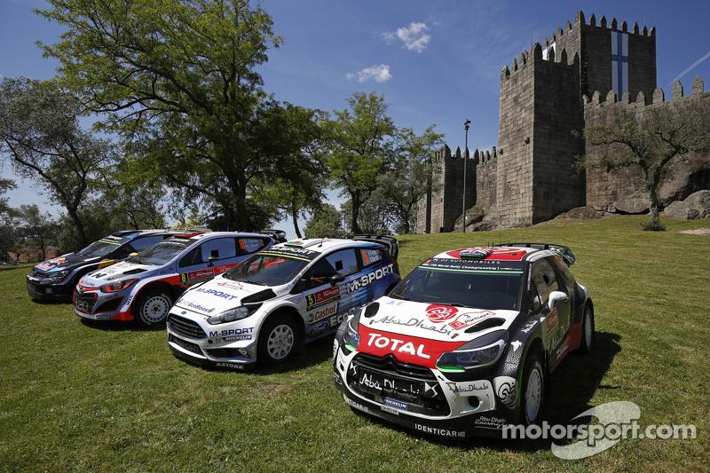 Sesi foto tim: Volkswagen Motorsport, Hyundai Motorsport, M-Sport Ford WRC, Citroën World Rally Team