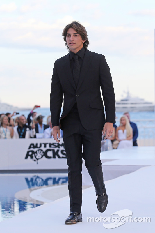 Roberto Merhi, Manor F1 Team at the Amber Lounge Fashion Show