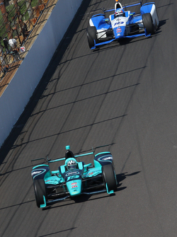 James Davison, Dale Coyne Racing Honda and Tristan Vautier, Dale Coyne Racing Honda