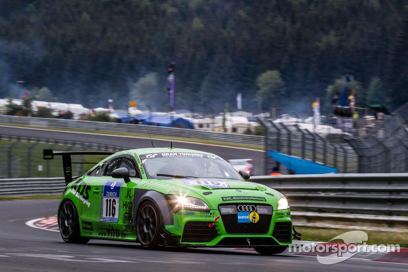 #116 MSC Sinzig e.V. im ADAC, Audi TT: Rudi Speich, Roland Waschkau, Dirk Vleugels, Thorsten Jung