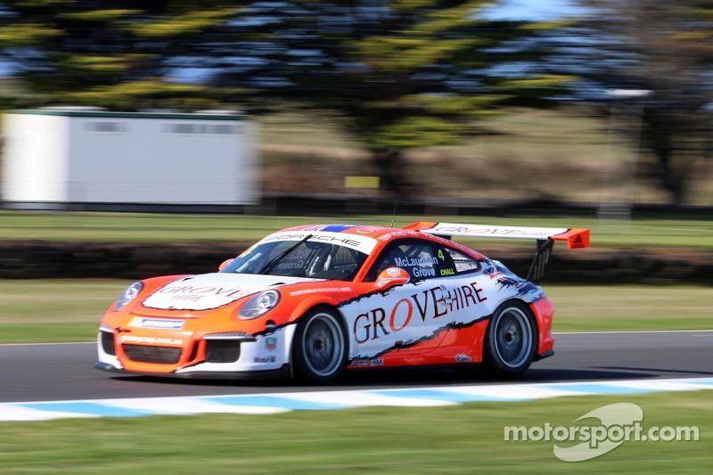 Steven Grove, Scott McLaughlin, Porsche 911 GT3 Cup