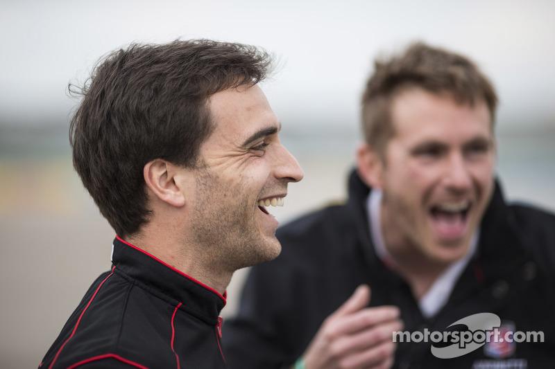 Jérôme d'Ambrosio, Dragon Racing and Scott Speed, Andretti Autosport
