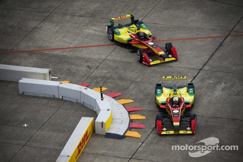 Daniel Abt and Lucas di Grassi, Audi Sport Team Abt