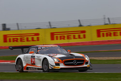 #34 Car Collection Motorsport Mercedes SLS AMG GT3: Alexта er Mattschull, Pierre Ehret