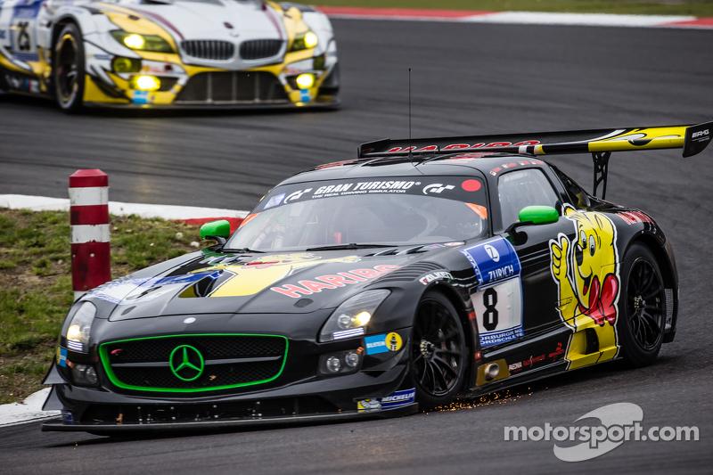 #8 Haribo Racing Mercedes-Benz SLS AMG GT3 : Uwe Alzen, Marco Holzer, Norbert Siedler, Maximilian Götz