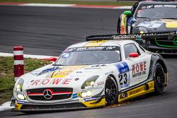 #23 Rowe Racing Mercedes-Benz SLS AMG GT3 : Klaus Graf, Christian Hohenadel, Nico Bastian, Thomas Jäger