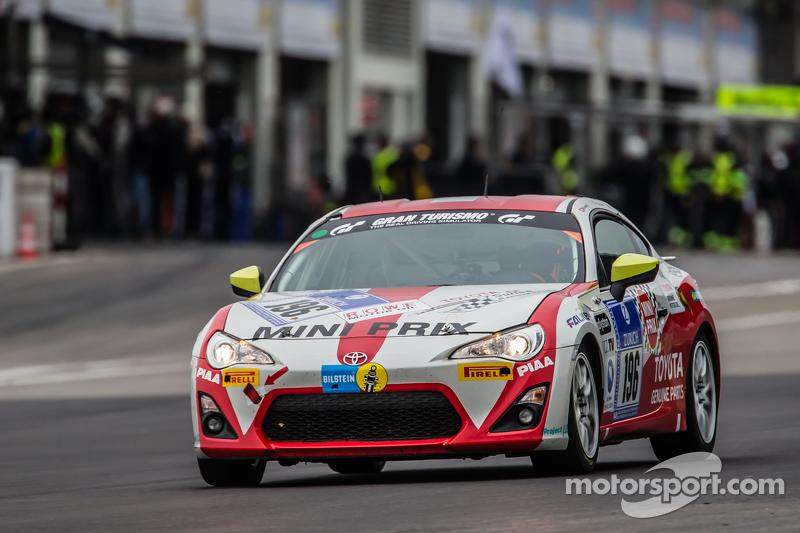 #196 Toyota Swiss Racing Team, Toyota GT86: Herbie Schmidt, Benjiamin Albertalli, Thomas Lampert, Manuel Amweg