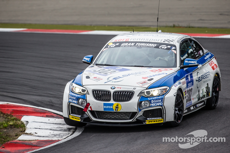 #302 Sorg Rennsport, BMW 235i Racing: Anders Fjordbach, Philipp Leisen, Thomas Jäger
