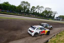 Petter Solberg, SDRX Citroën DS3 en Mattias Ekström, EKSRX Audi S1 quattro