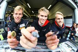 Vadim Gitlin, Antti Buri, Oliver Webb, Attempto Racing