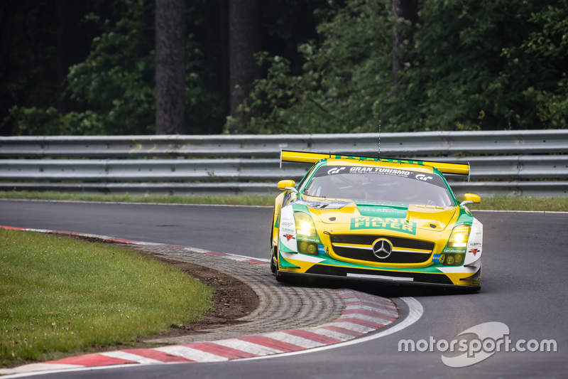 #31 Car Collection Motorsport Mercedes-Benz SLS AMG GT3: Peter Schmidt, Alexander Mattschull, Pierre Ehret