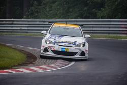 #250 Team Schirmer Opel Astra OPC Cup: Volker Strycek, Markus Oestreich, Moritz Oestreich, Robin Strycek