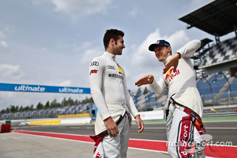 Miguel Molina, Audi Sport - Takım: Abt Audi RS 5 DTM ve Mattias Ekström, Audi Sport - Takım: Abt Sportsline, Audi A5 DTM