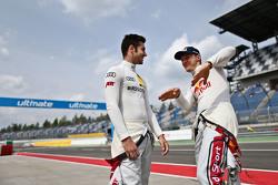 Miguel Molina, Audi Sport Team Abt Audi RS 5 DTM and Mattias Ekström, Audi Sport Team Abt Sportsline, Audi A5 DTM