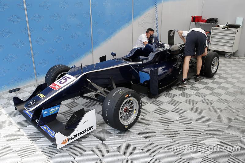 Artur Janosz, Eurointernational, Dallara F312 Mercedes-Benz