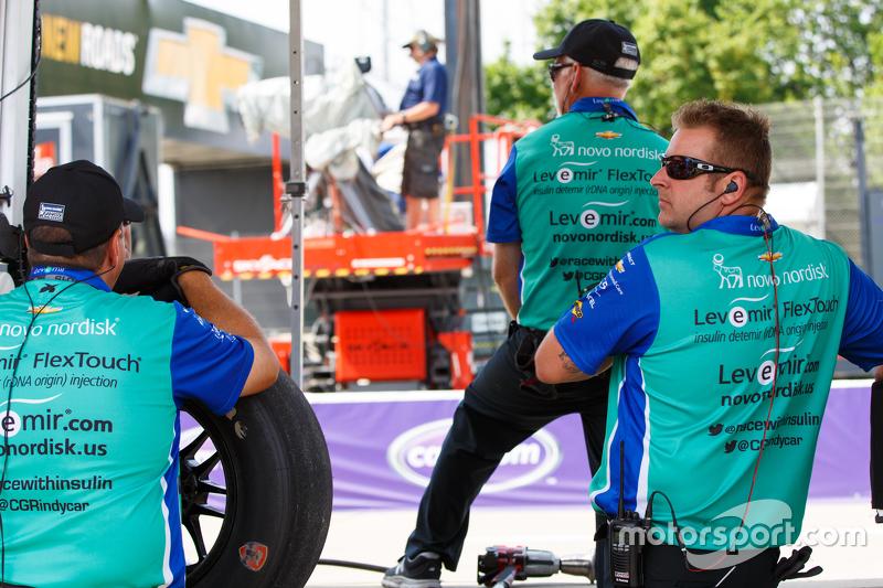 Chip Ganassi Racing crew