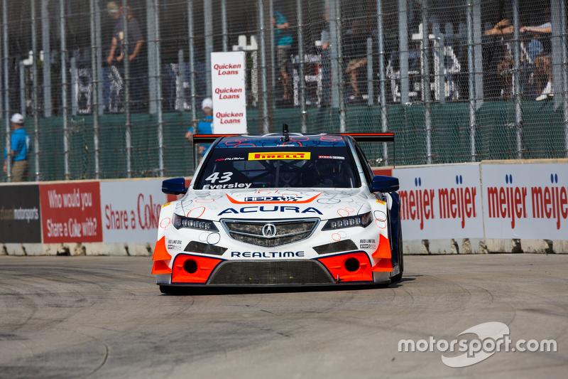 #43 RealTime Racing, Acura TLX-GT: Ryan Eversley