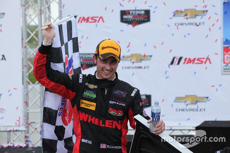 Race winners #31 Action Express Racing Corvette DP: Eric Curran, Dane Cameron