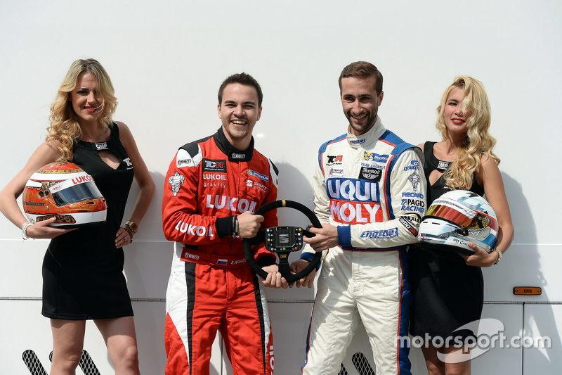 Sergey Afanasyev, SEAT Leon, Craft Bamboo Racing LUKOIL, dan Mikhail Grachev, Audi TT, Liqui Moly Te