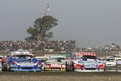 Matias Jalaf, Alifraco Sport, Ford; Matias Rodriguez, UR Racing, Dodge, und Facundo Ardusso, Trotta Competicion, Dodge