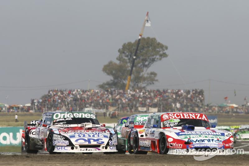 Matias Jalaf, Alifraco Sport Ford, dan Camilo Echevarria, Coiro Dole Racing Torino