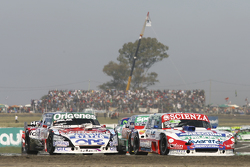 Matias Jalaf, Alifraco Sport, Ford, und Camilo Echevarria, Coiro Dole Racing, Torino