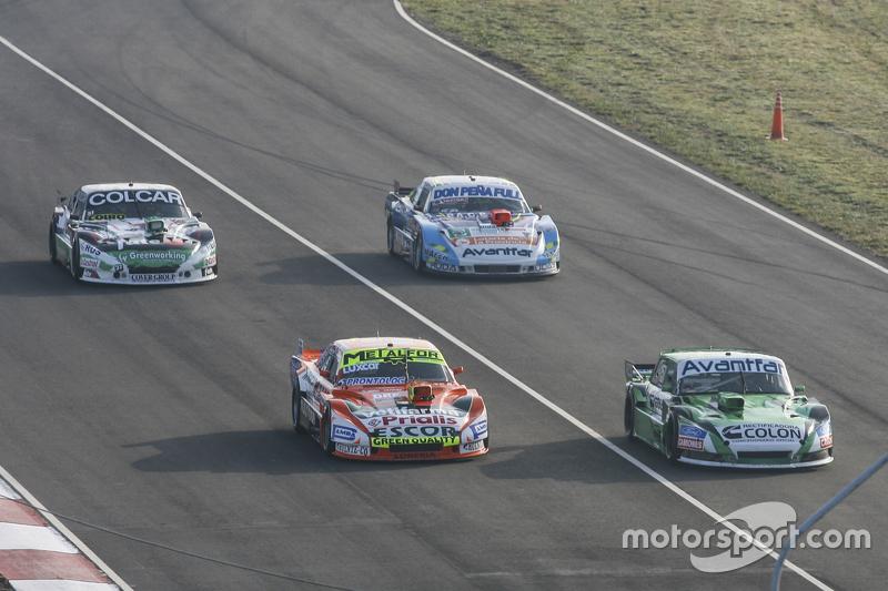Jose Manuel Urcera, JP Racing, Torino; Jonatan Castellano, Castellano Power Team, Dodge; Gaston Mazzacane, Coiro Dole Racing, Chevrolet, und Martin Ponte, RUS Nero53 Racing, Dodge