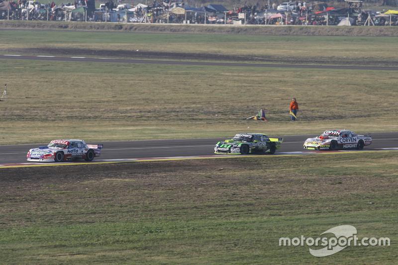Matias Jalaf, Alifraco Sport, Ford; Mauro Giallombardo, Maquin Parts Racing, Ford, und Juan Marcos A