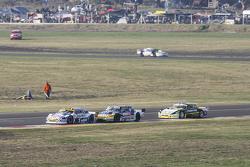 Mauricio Lambiris, Coiro Dole Racing, Torino; Luis Jose di Palma, Indecar Racing, Torino, und Omar Martinez, Martinez Competicion, Ford